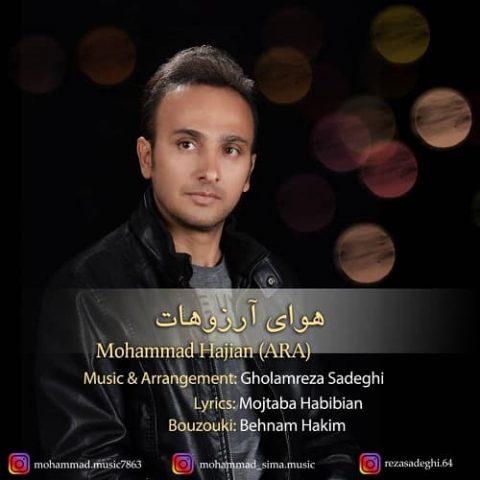 دانلود آهنگ محمد حاجیان ( آرا) به نام هوای آرزوت